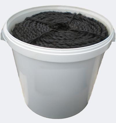 Каболка канализационная пропитанная, канат смоляной